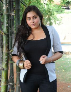 Namitha at New Movie Opening Event held in Ramanaidu Studios Hyderabad