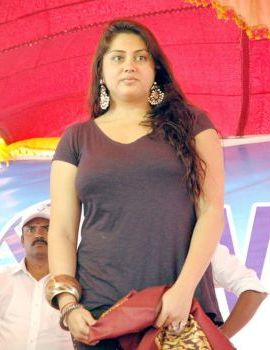 Namitha at Velcome City Opening