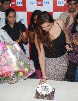 Namitha Birthday Celebration at Big FM