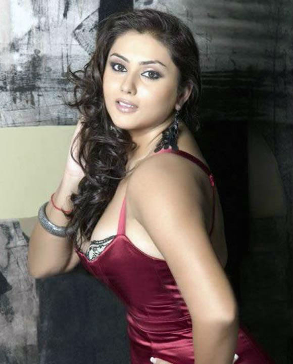 Namitha in Red Outfit