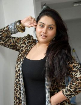 Namitha Kapoor Latest Photoshoot in Black Dress