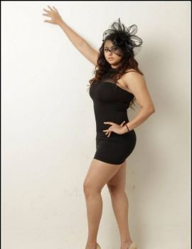 Namitha Latest Pics in Black Dress