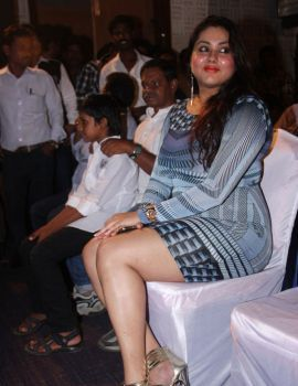 Namitha Stills at Anjal Thurai Movie Audio Launch
