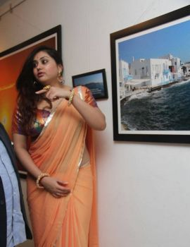 Namitha Stills At Dr. Batra Photography Exhibition