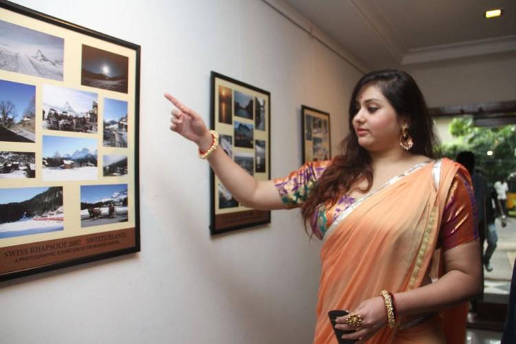 Namitha Stills At Dr. Batra Photography Exhibition