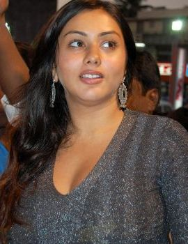South Indian Actress Namitha Inaugurates Mega Mart in Chennai