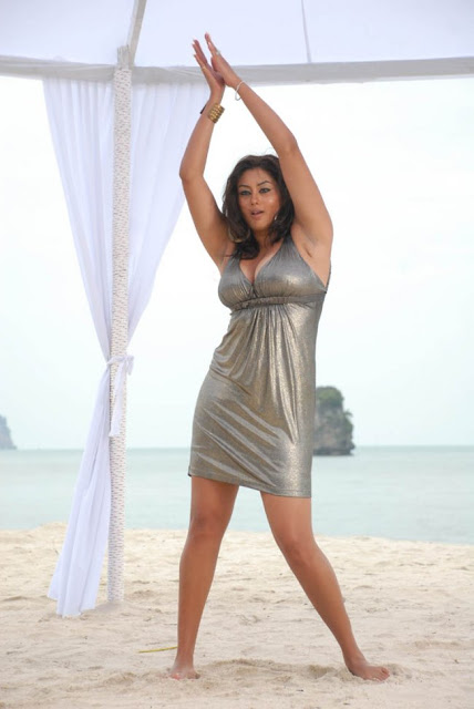 South Indian Actress Namitha Stills from Billa Movie