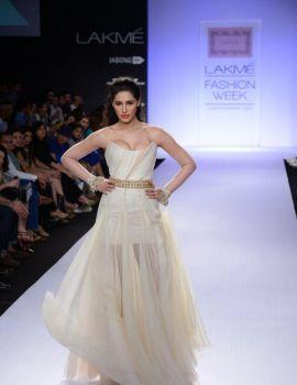 Nargis Fakhri at Lakme Fashion Week Summer/Resort 2014