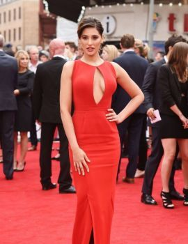 Nargis Fakhri attends the UK Premiere of Spy in London