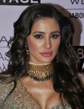 Nargis Fakhri photos at Lakme Fashion Week Show