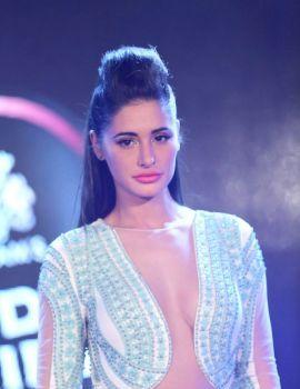 Nargis Fakhri Ramp Walk Blenders Pride Fashion Show 2014