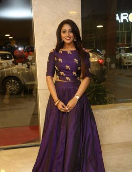 Telugu Heroine Natasha Doshi at Jai Simha Movie Pre Release Event