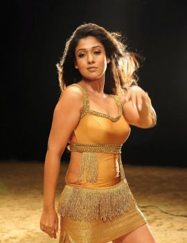 Nayanthara Hot Stills in Krishnam Vande Jagadgurum