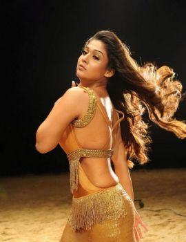 Nayanthara Hot Stills in Krishnam Vande Jagadgurum