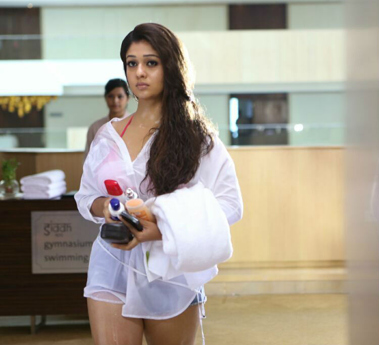 Nayanthara Hot Stills in Tamil Movie Aarambam