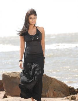 Nayanthara Stills in Black Dress