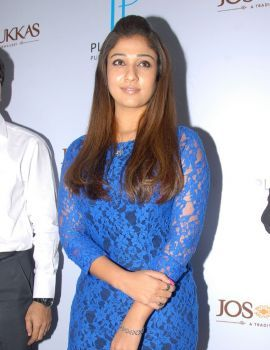 Nayanthara Unveils Platinum Jewellery Season's Collection at Jos Alukkas