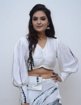 Neha Deshpande Photos at Peep Show Movie Poster Launch