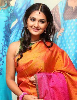 Neha Deshpande Photos at Sakhi Fashions 10th Year Celebrations