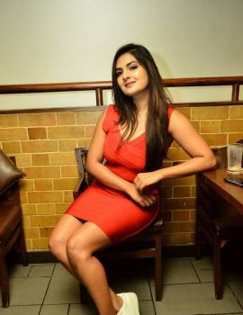 Neha Deshpande Stills at Barbeque Nation Cake Mixing Ceremony 2017
