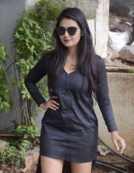 Neha Deshpande Stills at Bullet Movie Opening