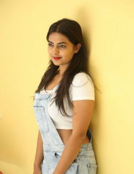 Neha Deshpande Stills from Bichagada Majaka Movie Roadshows
