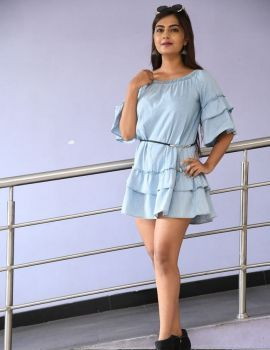 Telugu Actress Neha Deshpande Stills at Bichagada Majaka Movie Audio Launch
