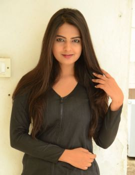Telugu Film Actress Neha Deshpande at Bullet Movie Launch