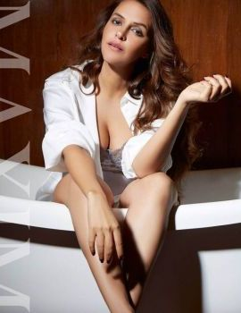 Neha Dhupia is on the cover of Maxim India Magazine May 2018 Edition