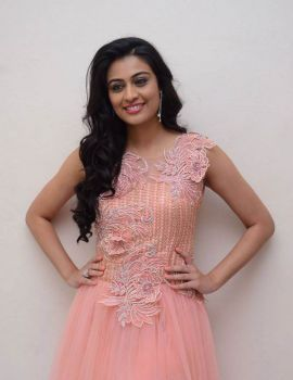 Neha Hinge at Srivalli Teaser Launch