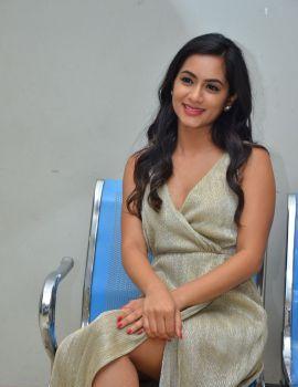 Neha Krishna stills at Valliddari Madhya movie Press Meet