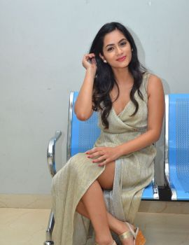Neha Krishna stills at Valliddari Madhya movie Press Meet