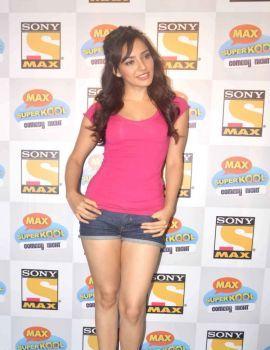 Neha Sharma Stills at Kya Super Kool Hain Hum Movie Promotion