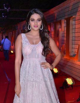 Nidhhi Agerwal Stills at Zee Cine Awards Telugu 2020 Red Carpet