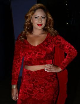 Nikesha Patel at Araku Road Lo Audio Launch