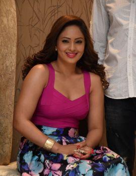 Nikesha Patel at Araku Road Lo Logo Launch