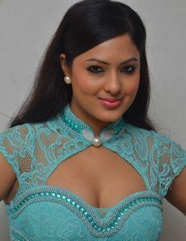 Nikesha Patel Stills at Karaiyoram Movie Audio Launch