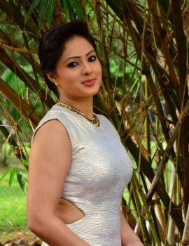 Nikesha Patel Stills at Narathan Movie Audio Launch