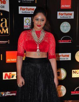 Telugu Actress Nikesha Patel Photos at IIFA Utsavam 2016