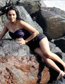 Nikita Rawal Sizzling Hot Beach Photoshoot Stills