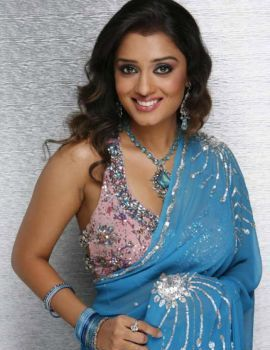 Telugu Actress Nikita Thukral Photoshoot in Saree