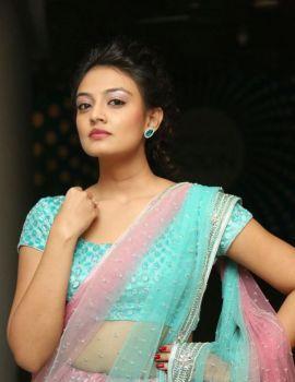 Nikitha Narayan Stills at Pesarattu Movie Audio Release