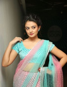 Nikitha Narayan Stills at Pesarattu Movie Audio Release
