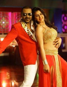 Nikki Galrani in Motta Siva Movie Stills