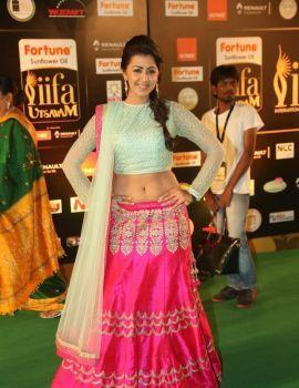 Nikki Galrani Photos at IIFA Utsavam Awards Day 2