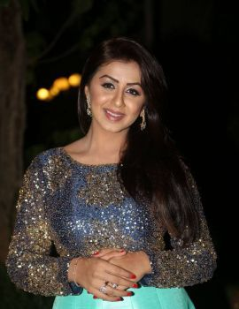 Nikki Galrani Photos at Marakatamani Movie Audio Launch