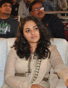 Nithya Menen Photos at Ok Bangaram Audio Success Meet
