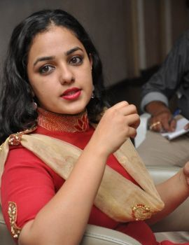 Nithya Menen Photos at OK Bangaram Movie Interview