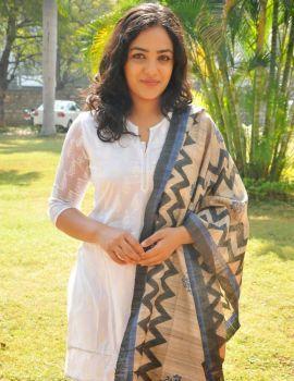 Nithya Menon Pics at Malli Malli Idi Rani Roju Success Meet