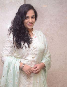 Nithya Menon Stills at 100 Days of Love Movie Audio Release
